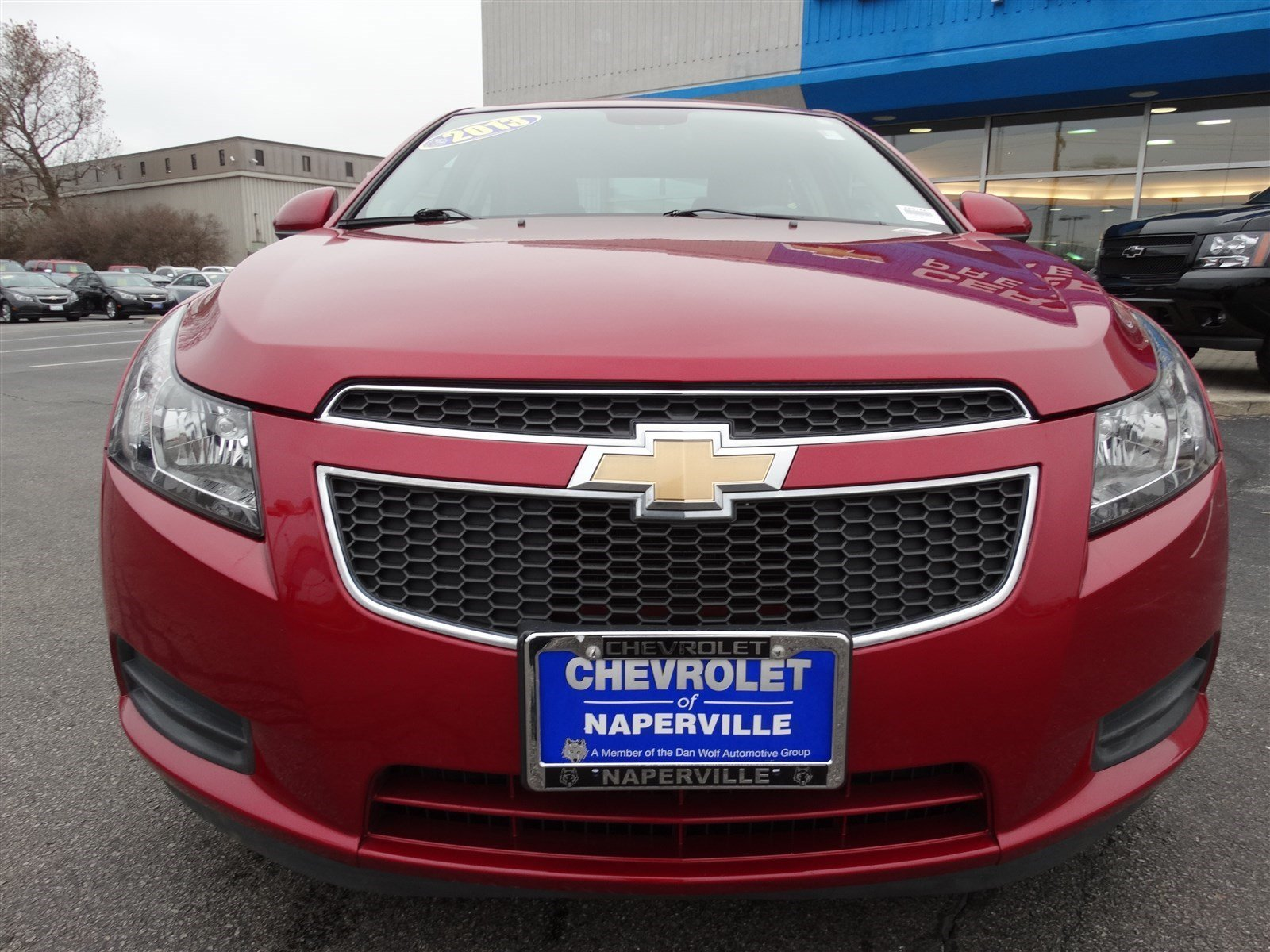 pre owned 2013 chevrolet cruze eco 4dr car in naperville. Black Bedroom Furniture Sets. Home Design Ideas