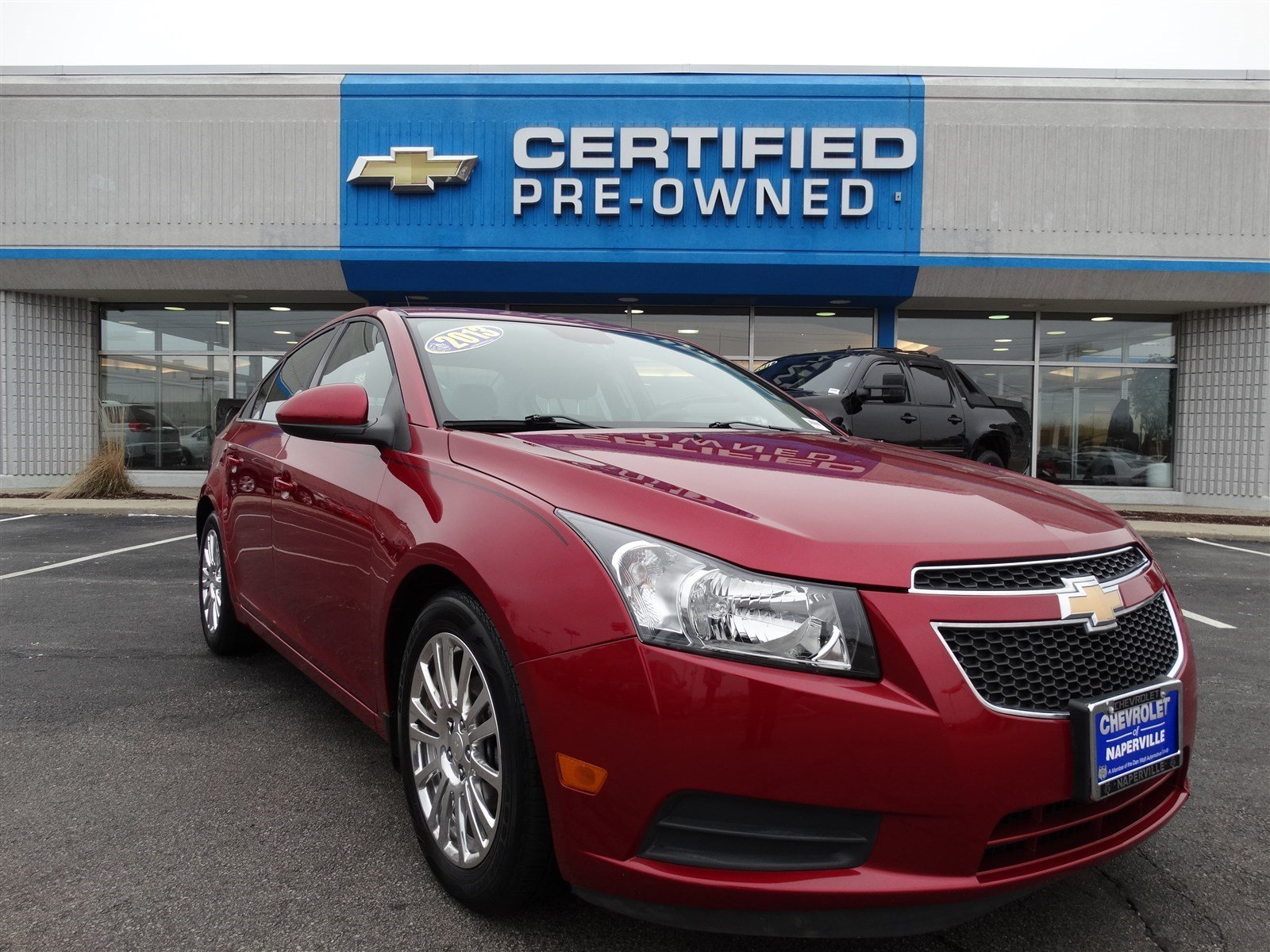 pre owned 2013 chevrolet cruze eco 4dr car in naperville p6814a chevrolet of naperville. Black Bedroom Furniture Sets. Home Design Ideas