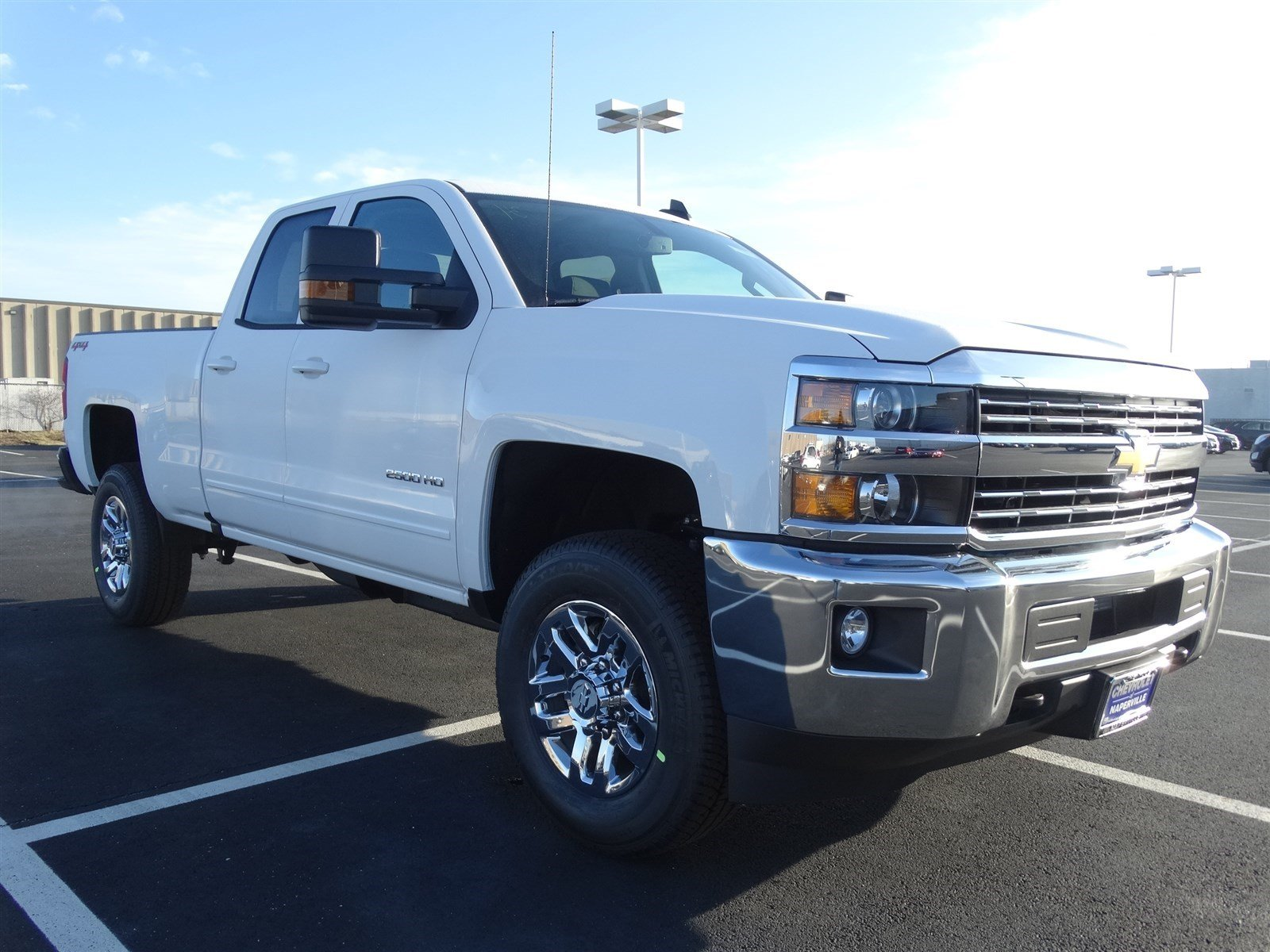 new 2016 chevrolet silverado 2500hd 3 4 ton lt 4wd double cab snow plow prep pack trailering. Black Bedroom Furniture Sets. Home Design Ideas