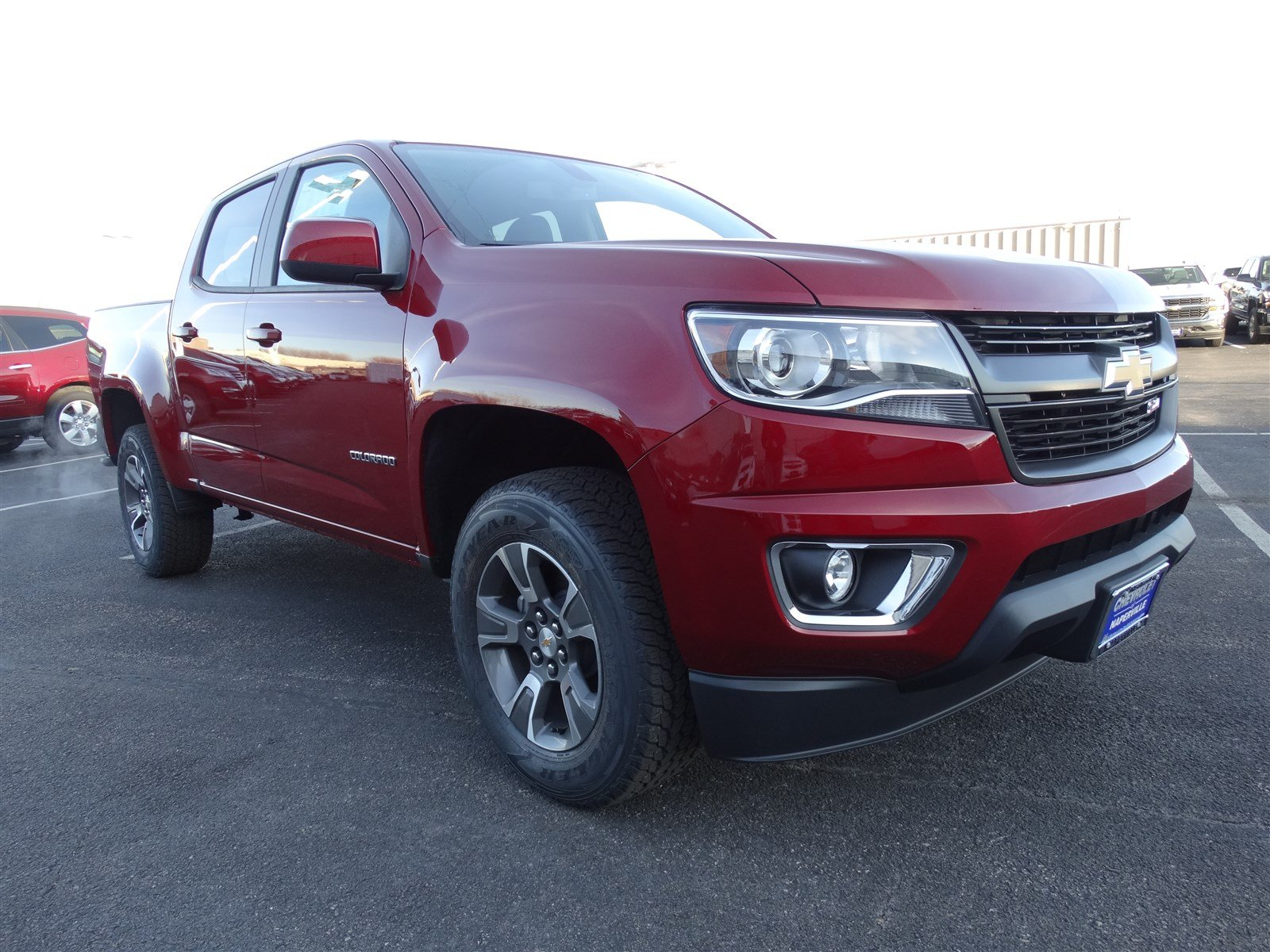 new 2017 chevrolet colorado 4wd z71 crew cab pickup in naperville t6190 chevrolet of naperville. Black Bedroom Furniture Sets. Home Design Ideas
