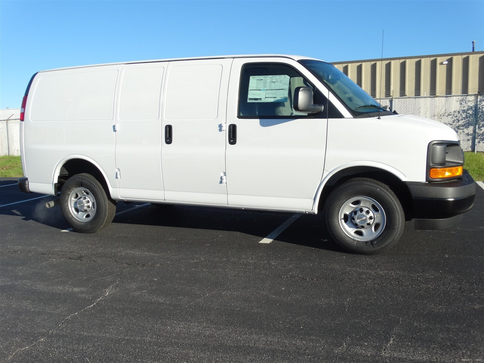 Cargo Van Locks : New chevrolet express cargo van g hd l v