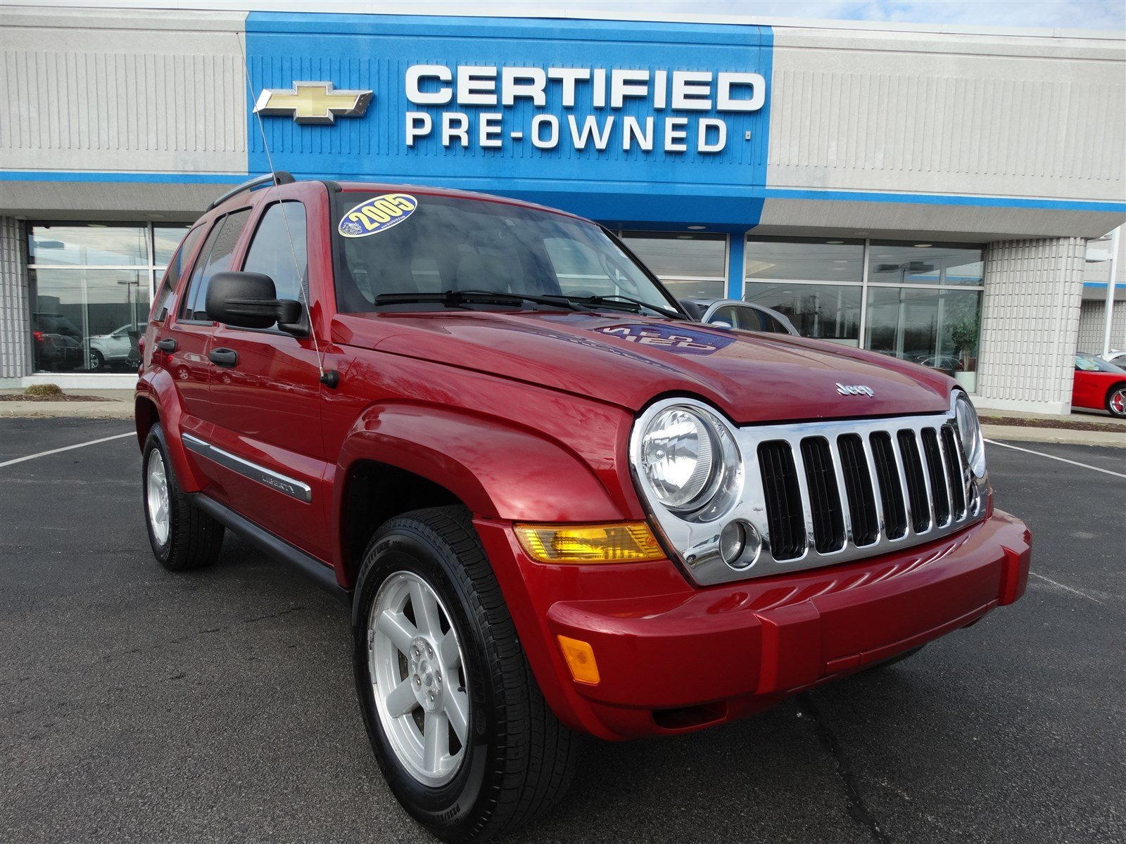 Pre Owned 2005 Jeep Liberty Limited Sport Utility In