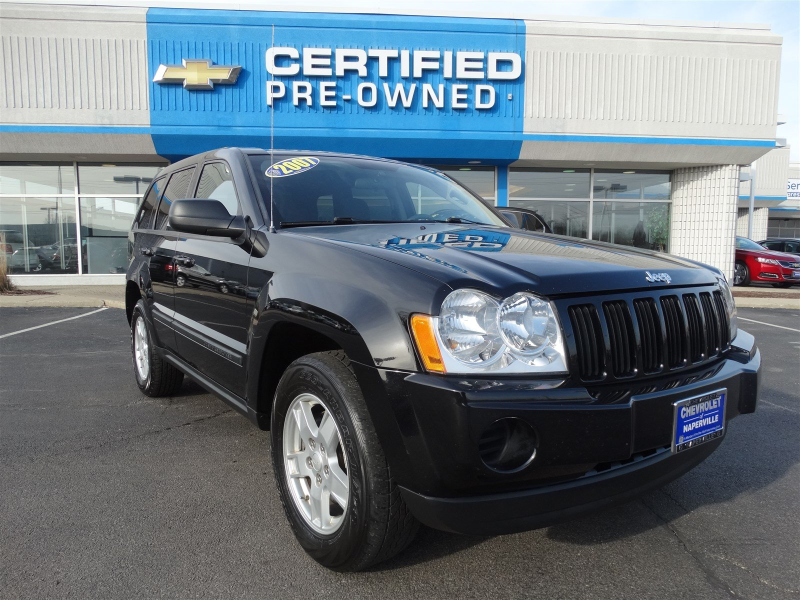 pre owned 2007 jeep grand cherokee laredo sport utility in naperville l0614a chevrolet of. Black Bedroom Furniture Sets. Home Design Ideas